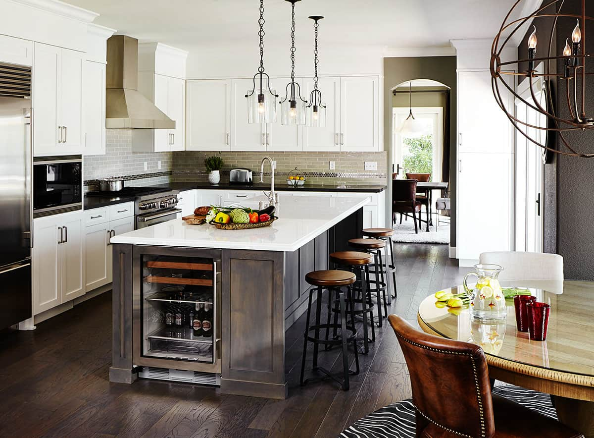 Elegant Kitchen Island