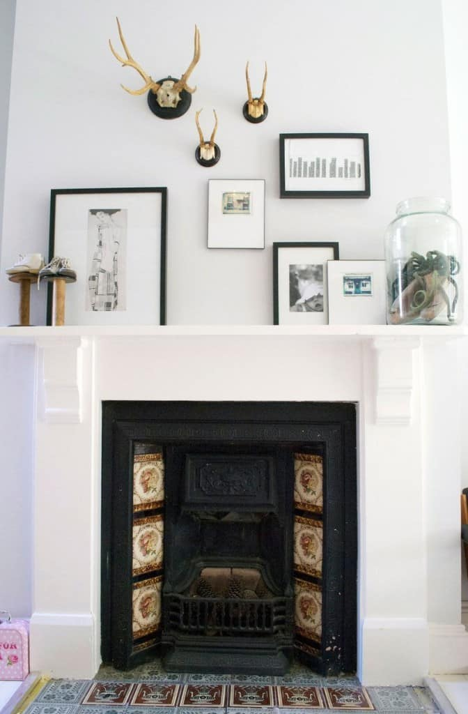 Making Your Fireplace Mantel a Focal Point | Kristina Wolf