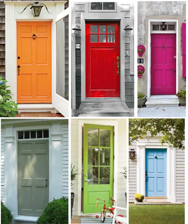 143 Best Painted Doors Images On Pinterest: The Perfect Front Door Color