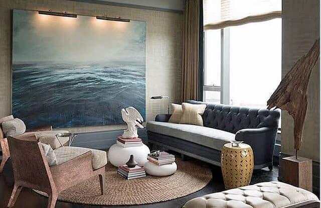 Making A Statement With Oversized Art