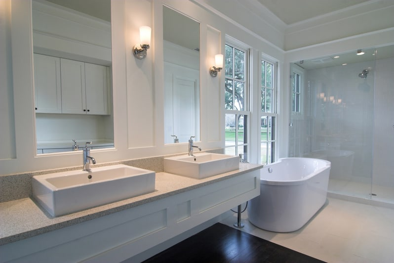 design a luxury master bathroom you'll never want to leave